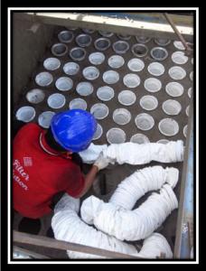 Pemasangan Filter Bag Dust Collector